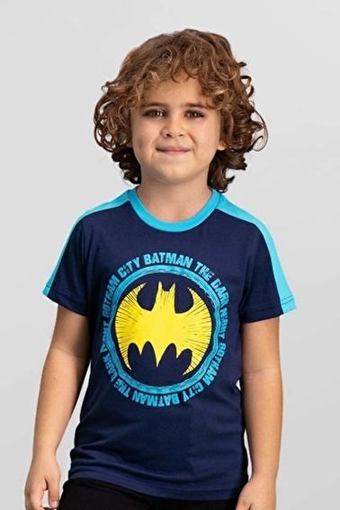 Batman Batman Lisanslı Lacivert Erkek Çocuk T-Shirt Lacivert